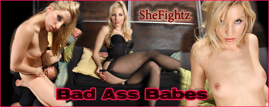 SheFightz mixed wrestling videos.